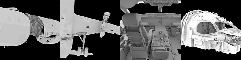 MAKING OF BOMBARDIER CSERIES PROJECT | CGRendering com / CG Render